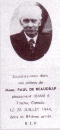 Mons. Paul de Beaudrap