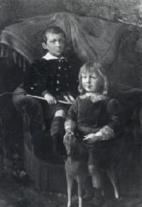 Peinture des enfants du comte de Beaulincourt
