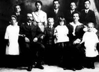 Philias Desnoyers (fils) avec sa famille