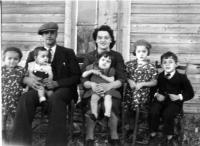 Pierre Gareau et son épouse