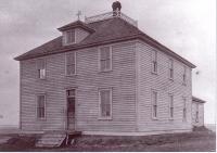 Premier couvent des filles de la Providence à Prud?homme.