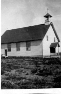 Première église de Val Marie