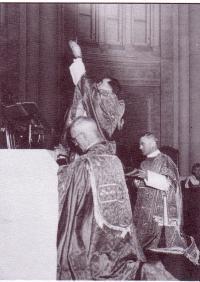 Première messe d'André Mercure