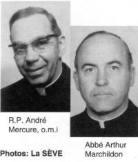 R.P André et Abbé Arthur