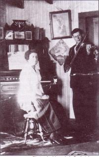 Rose-Alma et Raoul Jean de Debden