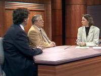 Tardif en entrevue avec les professeurs Stephen Kenny et André Lalonde