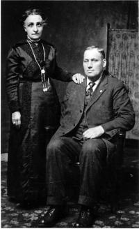Tefflé Bonneau et sa femme