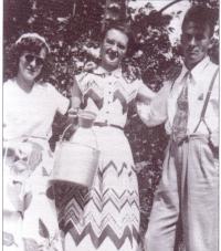 Trois des enfants de Joe Fournier