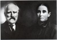Ulric Grenier, sa femme, Julie Gaudet