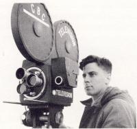 Un caméraman de CBC