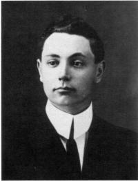 Un jeune Antonio de Margerie