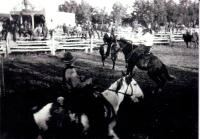 Un rodéo sur le ranch d?Ernest Béliveau