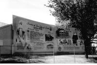 Une murale dédiée aux Soeurs de Notre-Dame