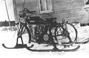 Motocyclette des neiges